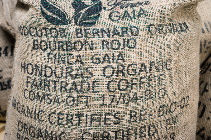 fairtrade koffie bourbon finca gaia honduras