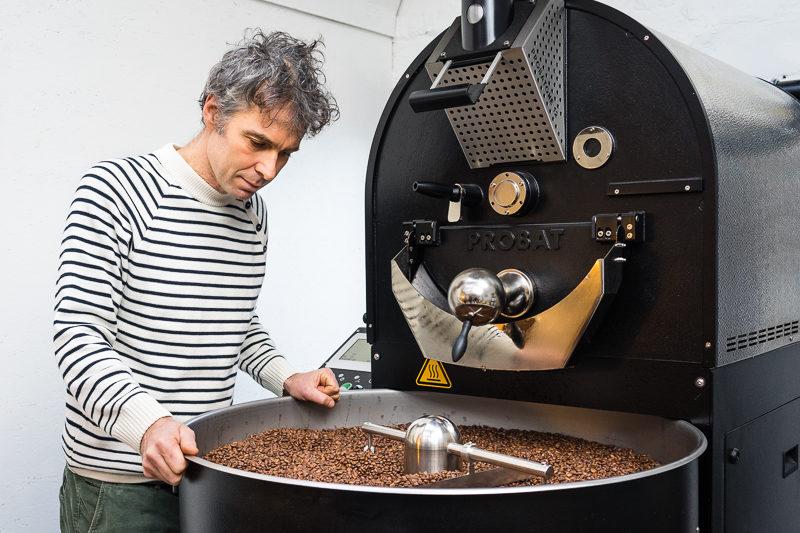 koffie branden raf coffee Gent koffiebranderij originekoffie