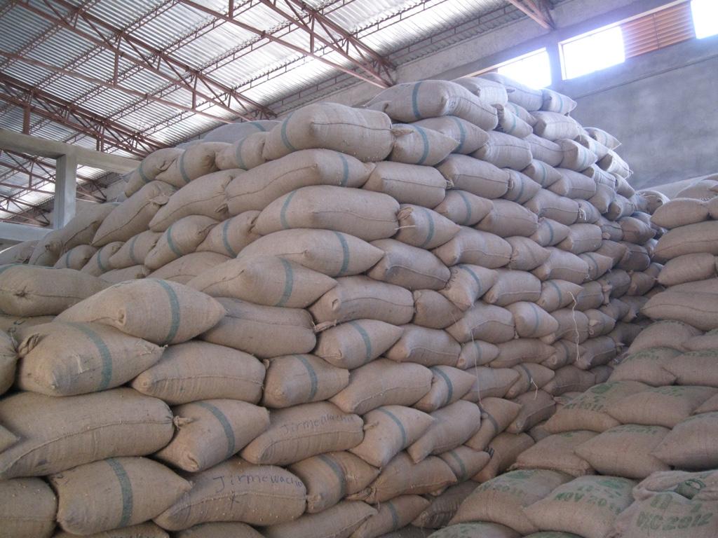 Ethiopië Yirgacheffe zakken koffie