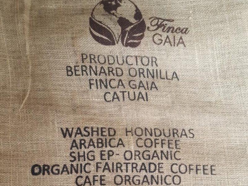 Honduras catuai raf coffee origine koffie gent bio fairtrade