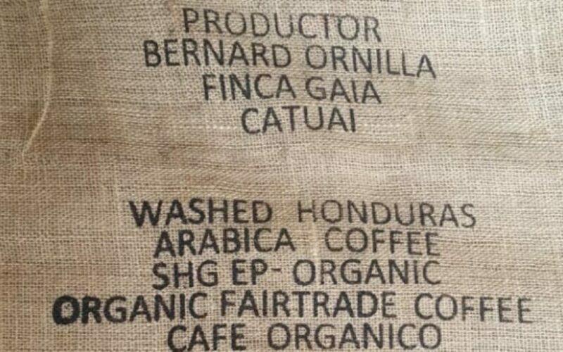 fairtrade biokoffie bonen uit Honduras te koop in Gent