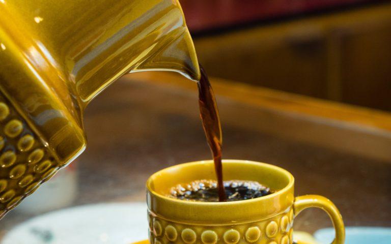retro koffiekan