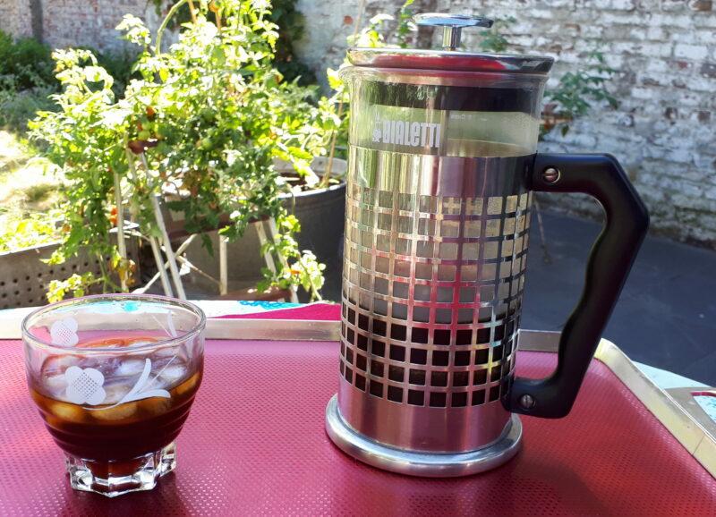 koffie in de zomer ijskoffie cold brew